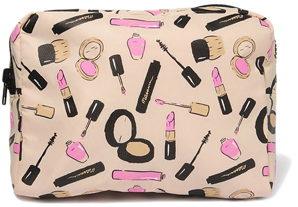2nd thing.. A makeup bag! A makeup bag is really important as it keeps all your makeup in one place and can prevent it from breaking or getting lost! Get a nice, small one so that you can keep it in your school bag without it getting in the way of your books!