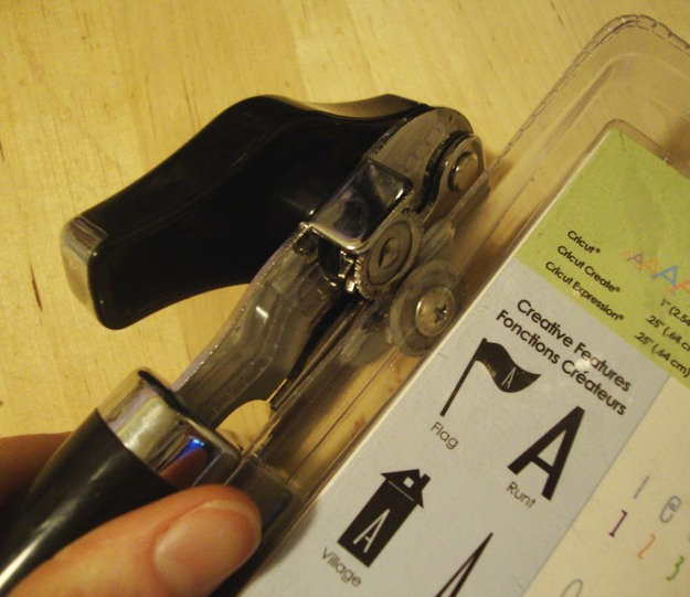 Use a can opener to open sealed plastic packaging