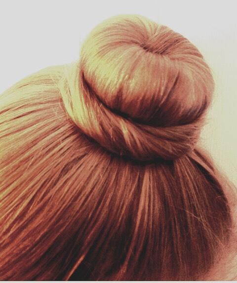 How to do a ballet bun !!!!😬