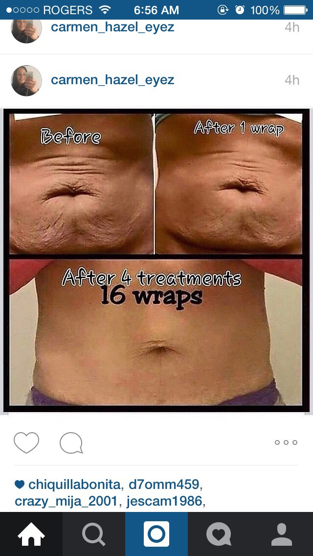 One of the many ways people love to lose weight with It Works! is by using our crazy wrap thing. It only takes 45 minutes, and results are instant! If you want to try it out, contact me and we can discuss it :) ️email brianna_itworks@yahoo.ca or text me at (705)-427-7329