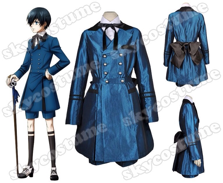 Ciel Phantomhive cosplay outfit
