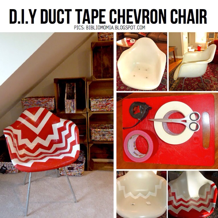 Use Duct Tape To Cover Furniture As Chairs! Really Awesome!😍