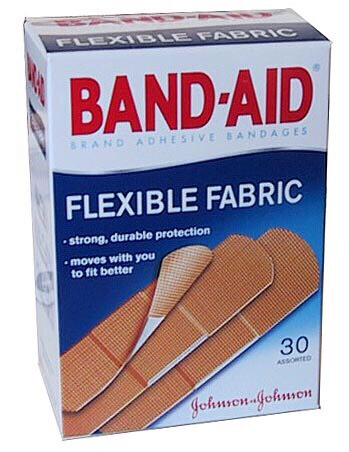 And a few band aids. Just a few