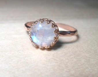MoonStone Ring - you can purchase them on Etsy