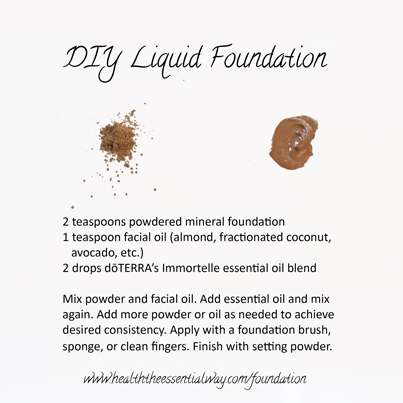 Diy Liquid Foundation By Georgette Musely