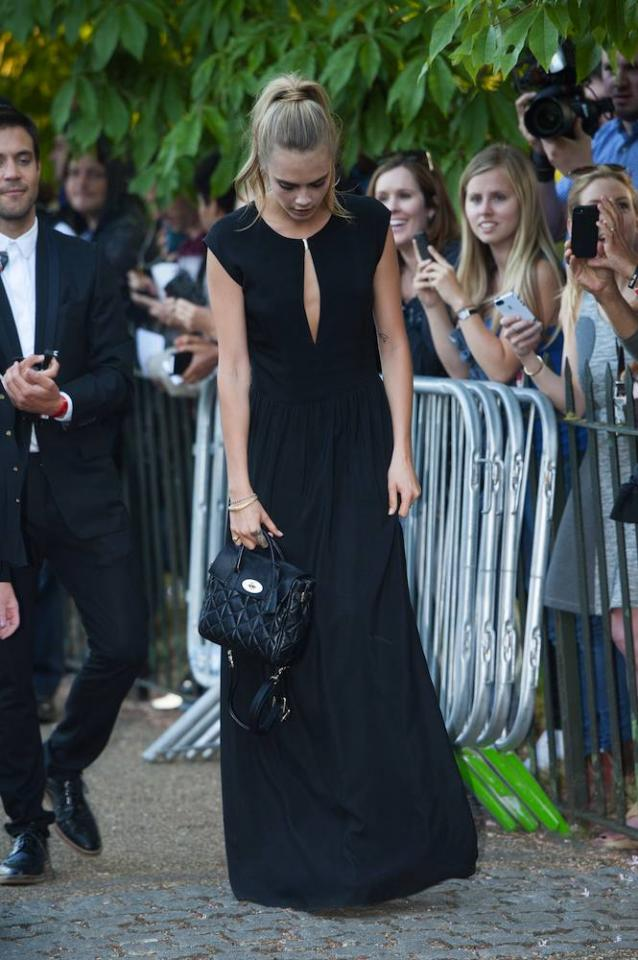 When in Doubt, Opt for All-Black  Chic for wherever your day takes you, an all-black outfit fits almost any setting and comes in handy when you're not quite sure of the dress code. A good set of brows like Cara Delevingne's helps, too.