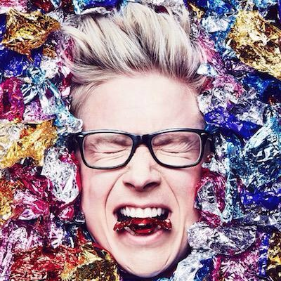 """Tyler Oakley is adorable and fun and his videos are hilarious. Check out his book called """"Binge""""🍦"""
