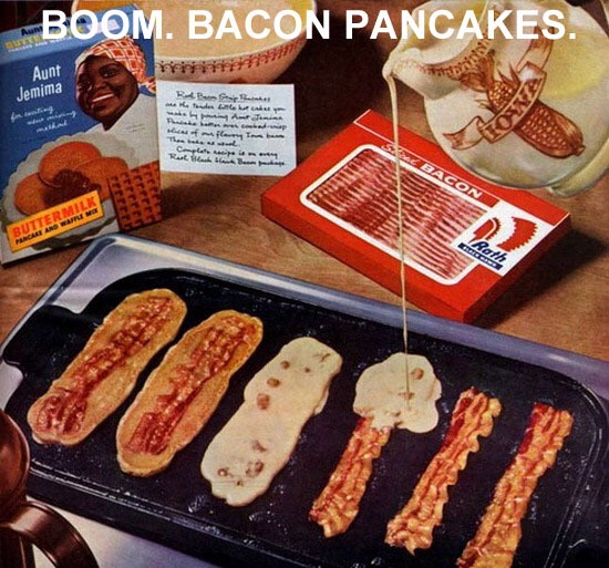 I don't eat bacon but I find that really cool