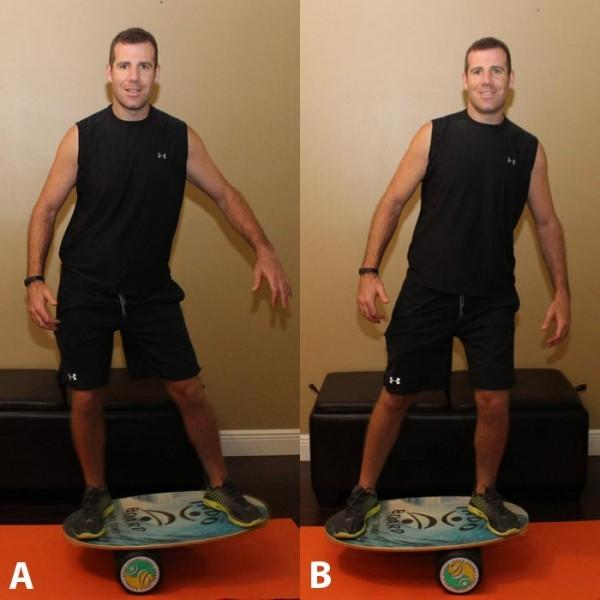 The Indo Board is a unique training tool that is perfect not only for improving balance but also for strengthening your core, as training on an unstable surface allows you to achieve greater activation of the core musculature Recommended: Sets: 1 Reps: 2 to 3 minutes