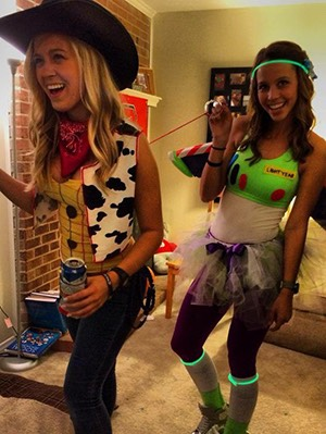 Great Cute Best Friend Halloween Costumes! By Autum Clavier   Musely