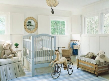 Filled with Light  This Swedish style nursery is so bright and inviting. Of course all the vintage details have completely won me over.