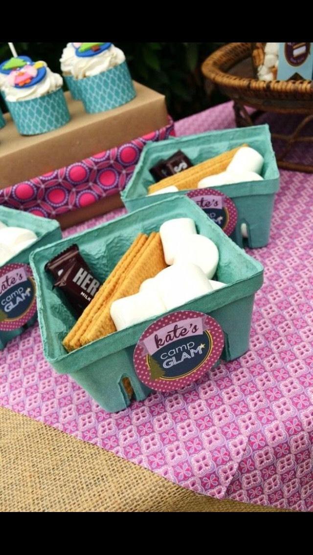 Mini snack boxes