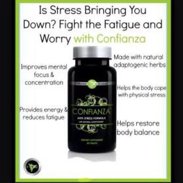 I suffer from high anxiety, was put on antidepressants but nothing ever helped. Thank God for Confianza!