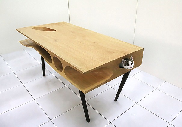 CATable Lets Cats Play While You Work