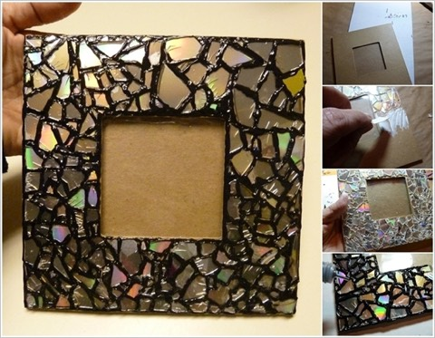 5. Create a Beautiful Mosaic Mirror