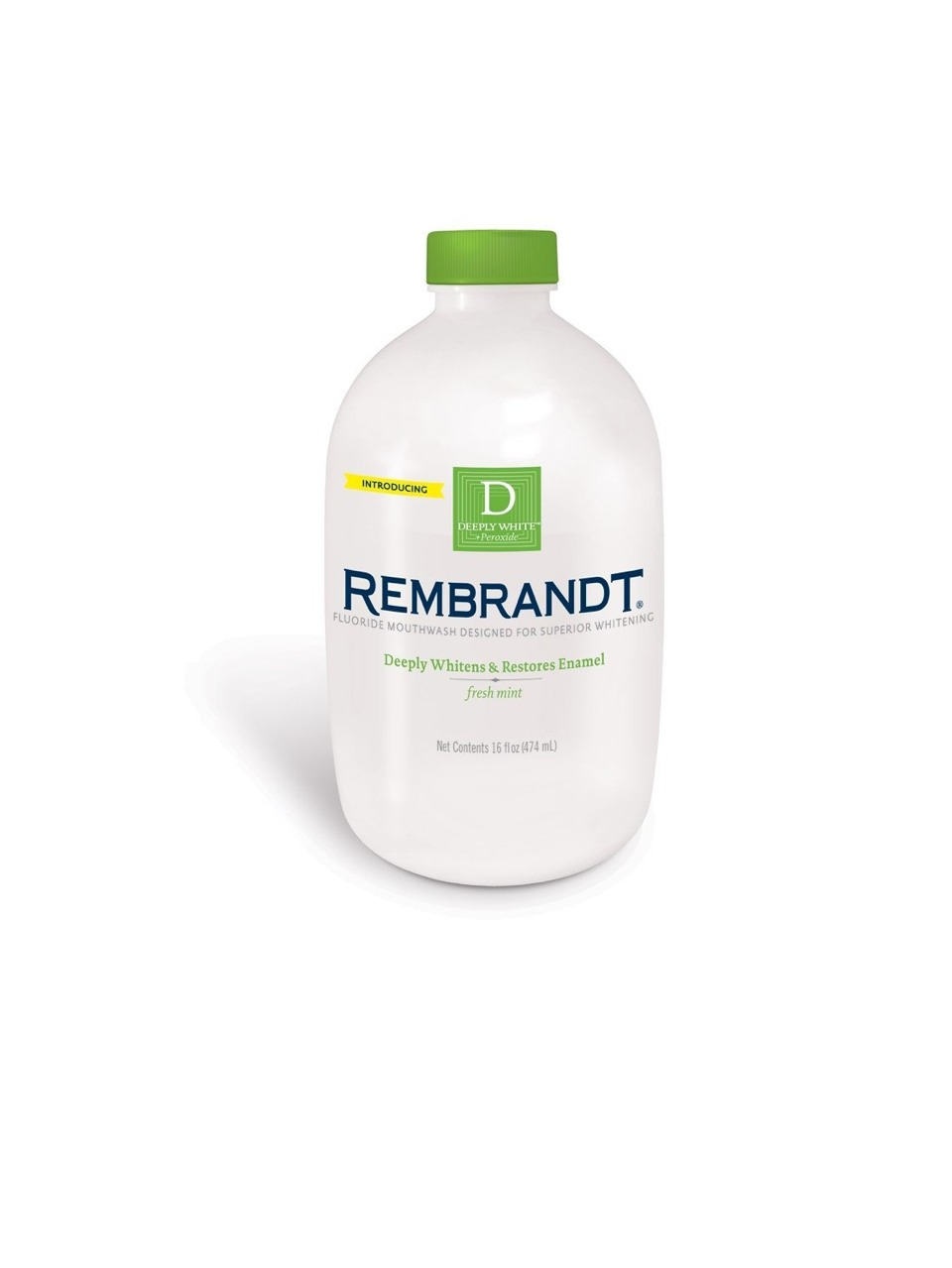I keep a little travel bottle of this amazing mouth wash in my purse, a full bottle at work in my office and one in my bathroom at home! It's cheaper than chewing gum after meals and it gives a good swish with peroxide and mint for a refreshing clean feeling! I am always scared of having bad breath!