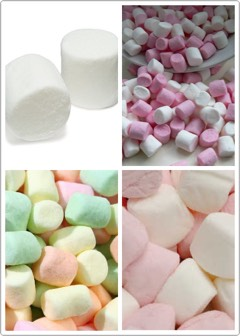 Marshmallows!!!!  They are a miracle worker on my sore throat!  It really works!