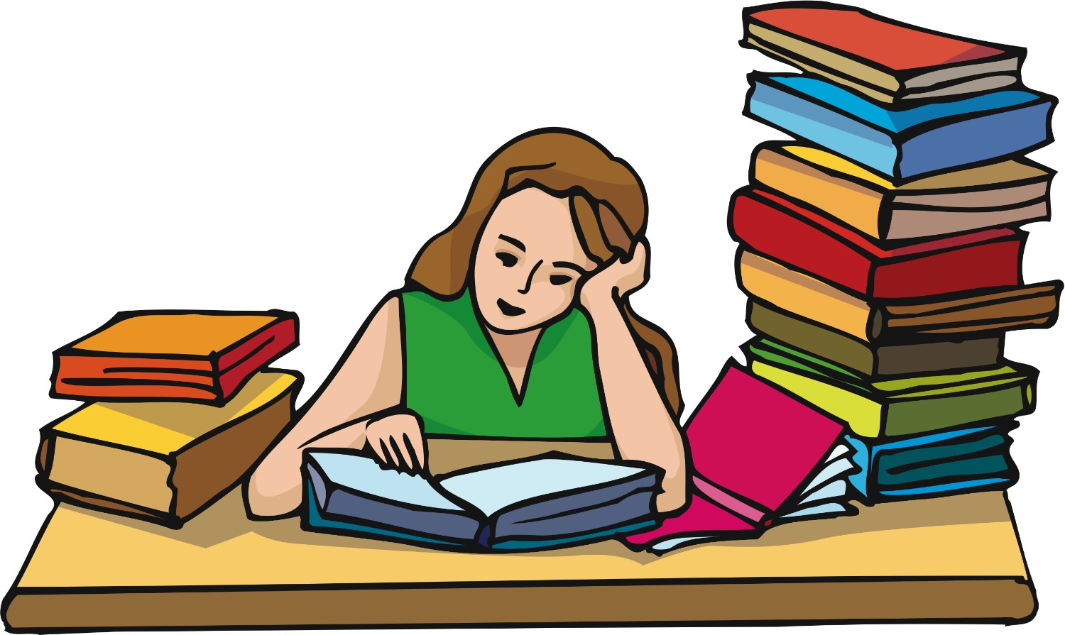 3. Work on all your homework for one class than take a break. Than work on all your homework for another class and take a break. So on and so on...