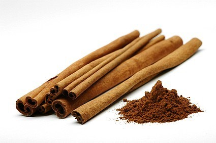 Cinnamon has been know to help burn fat. There has been many studies to prove this
