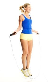 Jumping rope ( 1 minute )