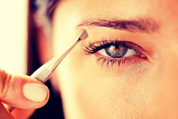 When plucking your eye brows never pluck above them. Always underneath. Doing this will ensure that you have the best possible arch in your brow and they will be easier to shape with a brow pencil :)