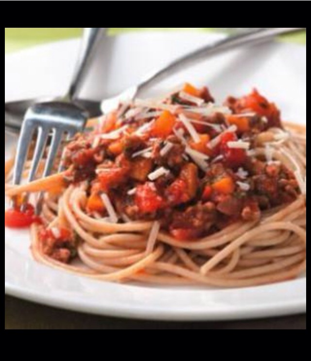 Learn how to make my healthy spaghetti that's satisfies any age!!