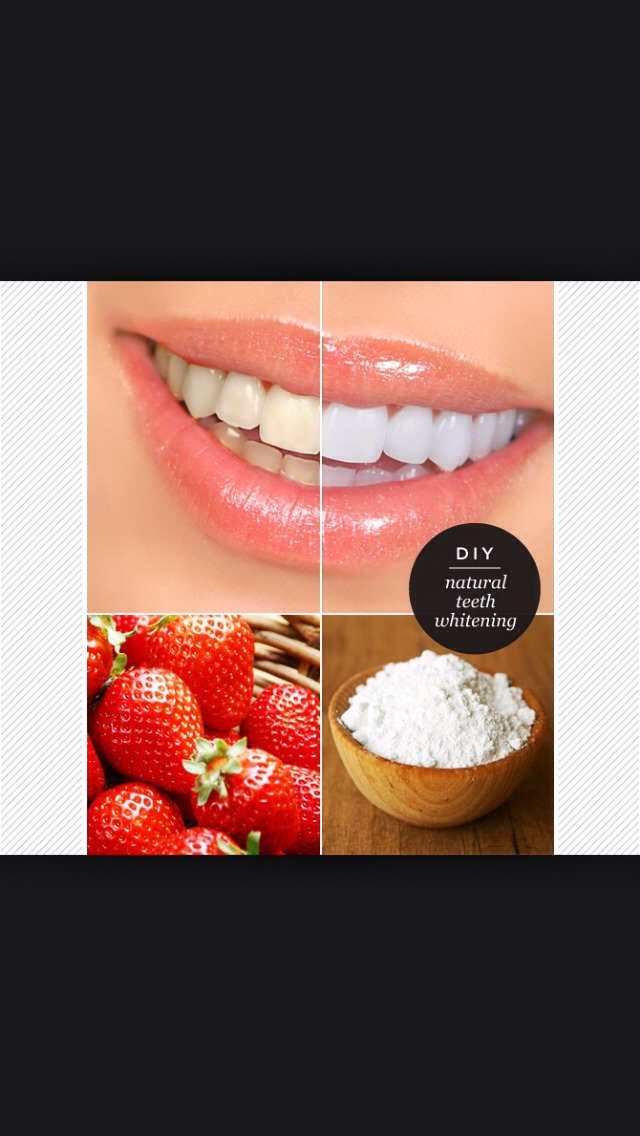 Whiten Teeth With Baking Soda And Strawberries By Mya S Musely