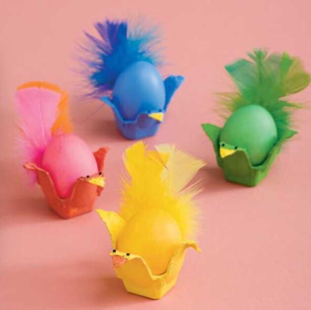 Make little chickens