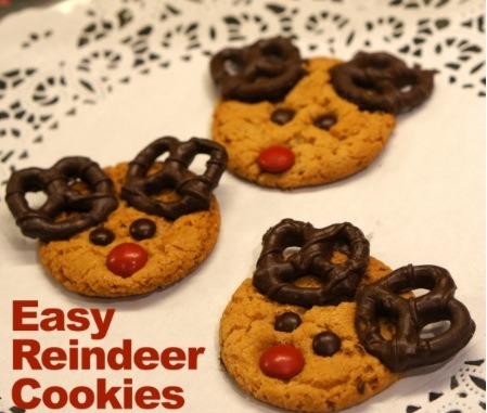 DIY Reindeer Cookies! #Tipit
