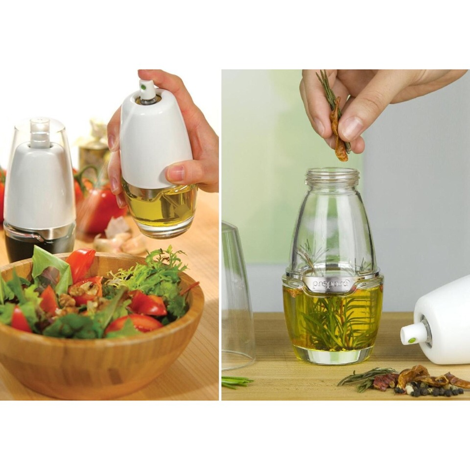 Buy an oil mister and use your own healthy oils!!