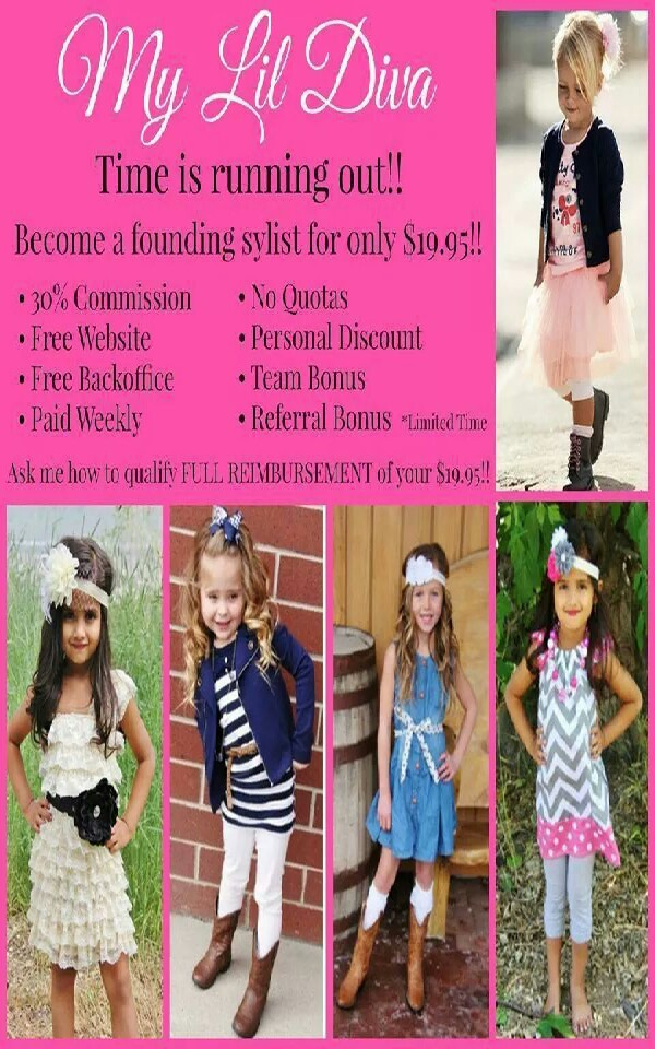 make extra money or save money shopping for the princesses! http://www.mylildiva.com/?a_aid=Jaycee