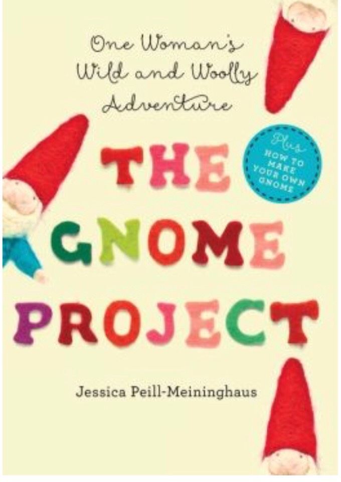 This book is an amazing inspirational read about a daily practice, and how one woman overcame the inability to follow through by needle felting one gnome a day for a year. Between moving across country, settling in a new environment, sickness and unexpected incidents, she felted no matter what.
