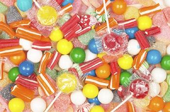 Eating sugary foods & drinks before sleeping.