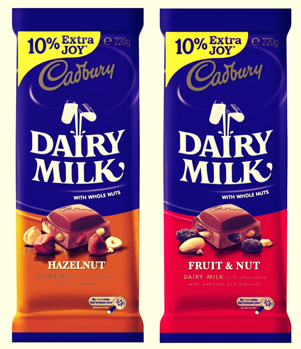 NUMBER 6: Cadbury chocolate