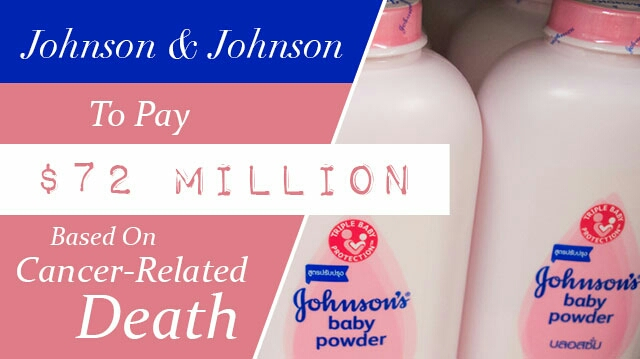 Johnson & Johnson was recently sued, and lost, because the talc powder in their product causes cancer.