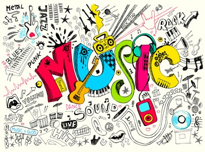 Music is used for many reasons such as for fun, for work or concentration. Also music is used for weddings funerals and birthday parties!