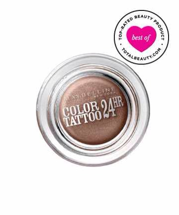 10: Maybelline New York Eye Studio Color Tattoo 24HR Cream Gel Shadow, $6.99