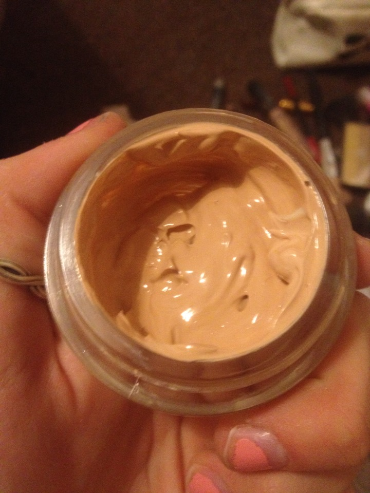 3. You now have more foundation to use up!  Also, your face will be smelling lovely of cocoa butter
