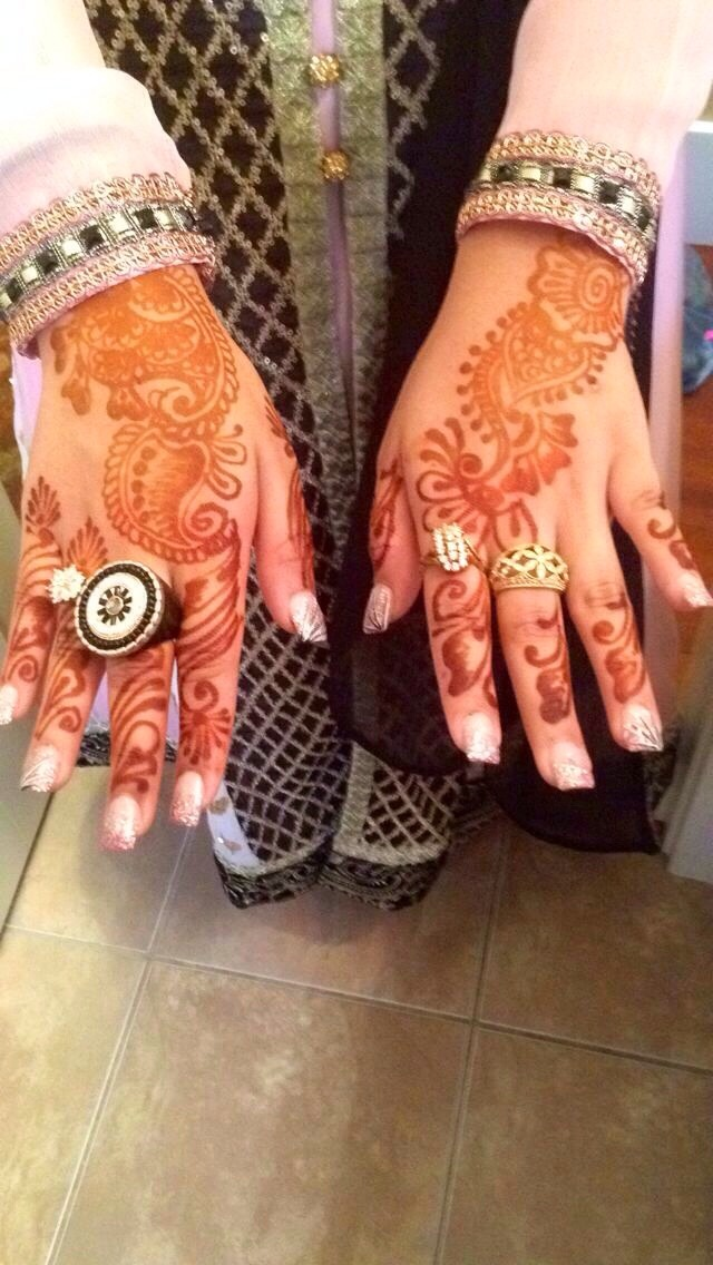 Henna is a very beautiful art of the hand