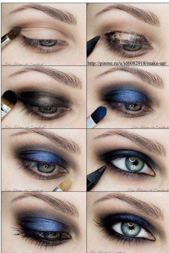 This is a very bold look to enhance your eyes.