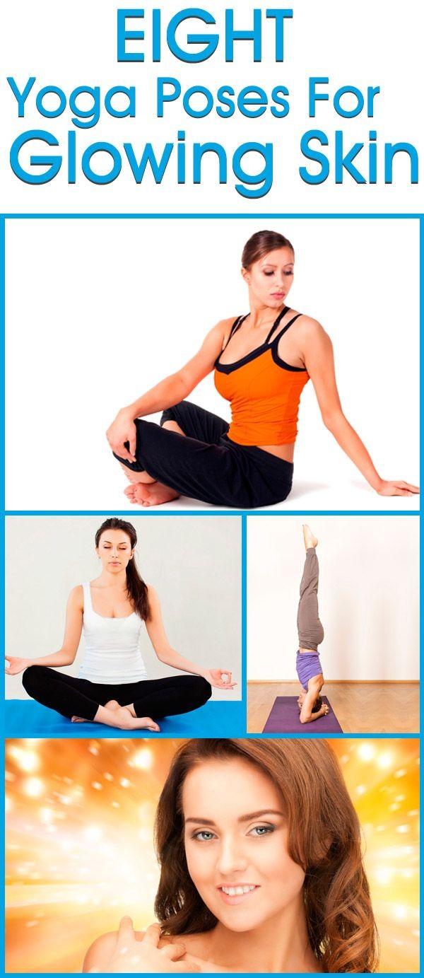 8 Amazing Yoga Poses For Glowing Skin