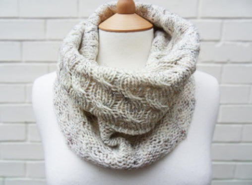 Scarves can really change up an outfit. Infinity scarf are my personal favorite. Throw them over any T-shirt and you can change the completely!
