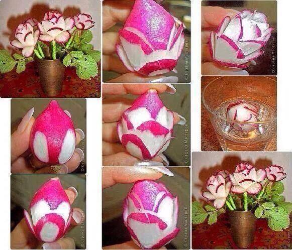Radish-Roses