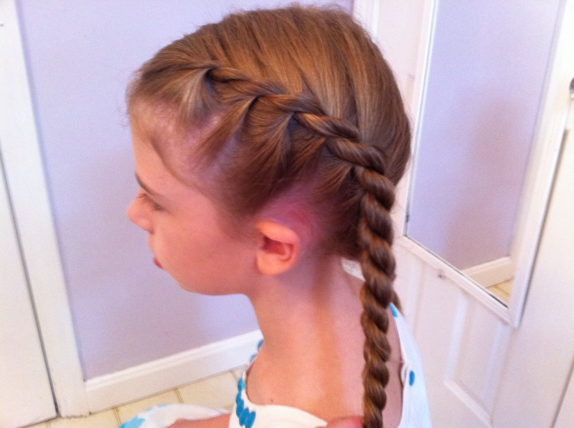 How To French Rope Braid Hair By Ellis Amburn (with A Rope Braid) Youtube  The Headband Curls! This Is So Easy, All You Have To Do Is Grab