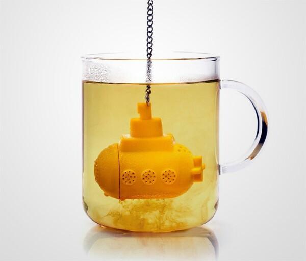 Yellow Submarine Tea Infuser!