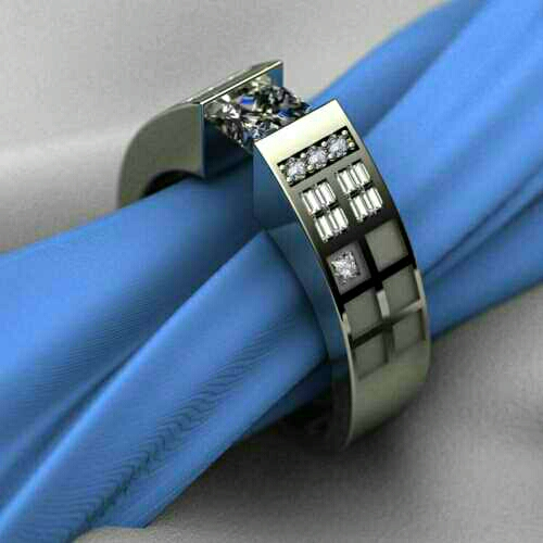 Just a pretty Tardis-themed ring that's so nerdy, it blends in with the modern edge of jewelry.