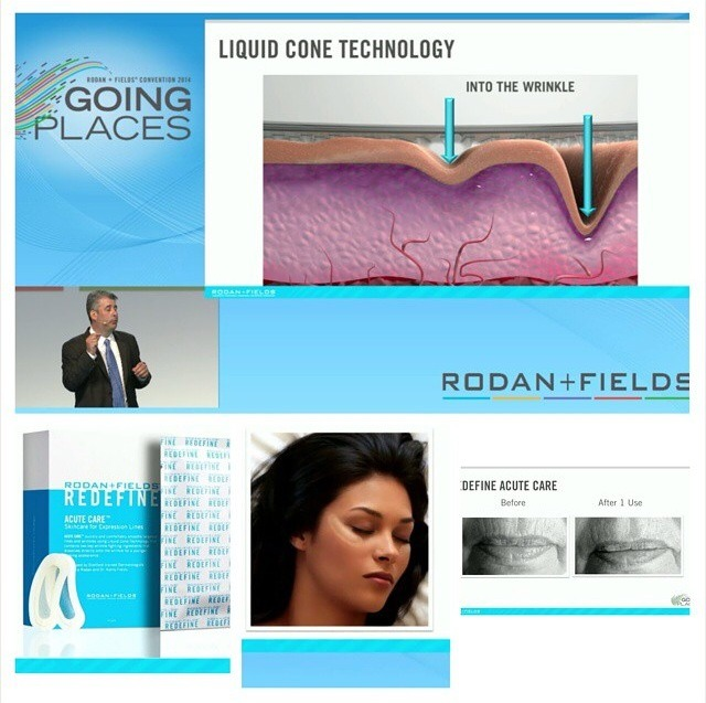"""Finally the new product to the REDEFINE family is here! Introducing... """"The Redefine Acute Care Skincare for Expression Lines"""""""