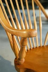 Pull baby wipes through the slits in my dining chairs to get the dust out where the duster doesnt fit.