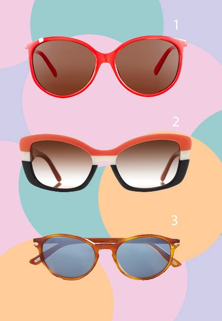"""Sunglasses that Flatter  What fun is wearing sunglasses if they don't look good? There's a certain amount of """"chic-ness"""" that goes along with wearing a hot new pair of shades. The trick is finding a pair that will provide adequate protection and flatter your face."""