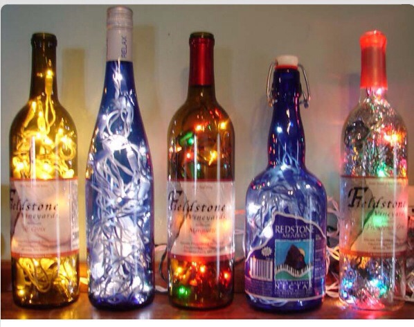 Decorative Wine Bottles Alluring Musely Decorating Design